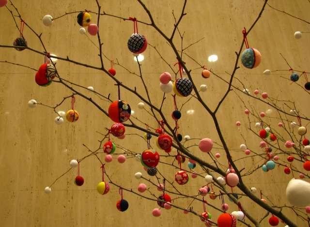 Новый год в японском стиле