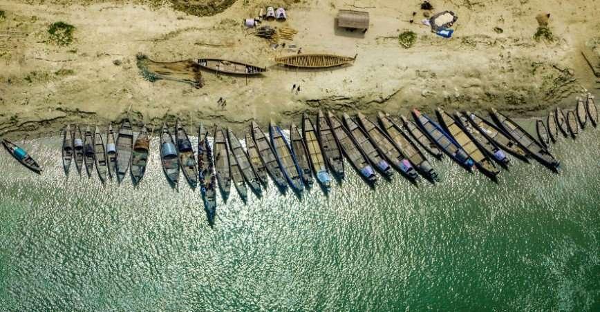 Далекая страна Бангладеш с высоты птичьего полета