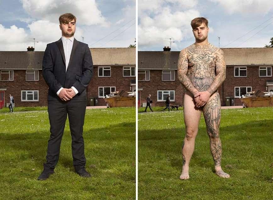 Что скрывается под одеждой людей с татуировками