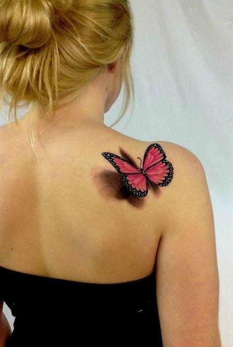17 восхитительных 3D татуировок, которые поражают своей реалистичностью