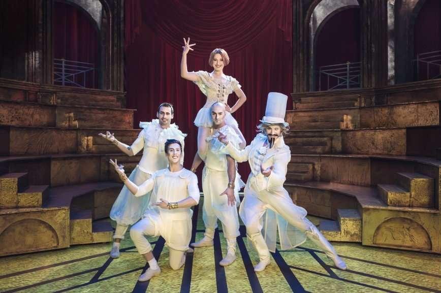 Мюзикл нового поколения «Принцесса цирка»