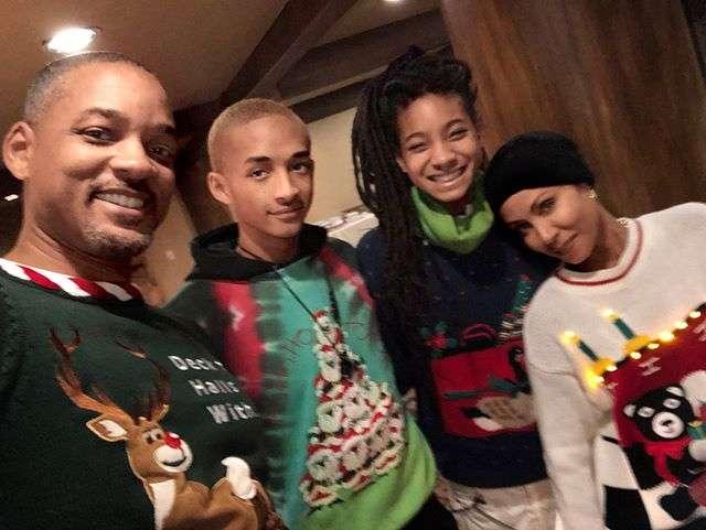 Жена заставила: праздничное веселье семьи Уилла Смита тронуло поклонников