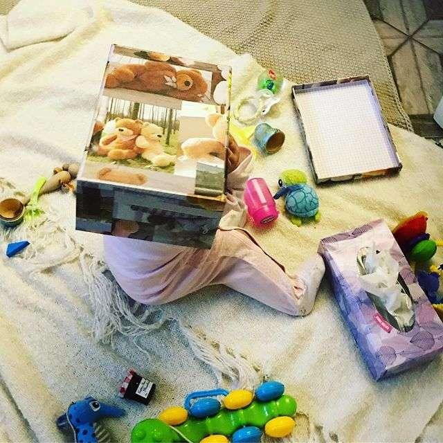 «Это и есть счастье!»: дочка играет с Татьяной Волосожар в прятки