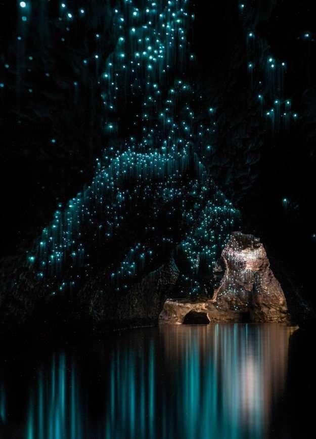 Пещеры Вайтомо - космос под землей