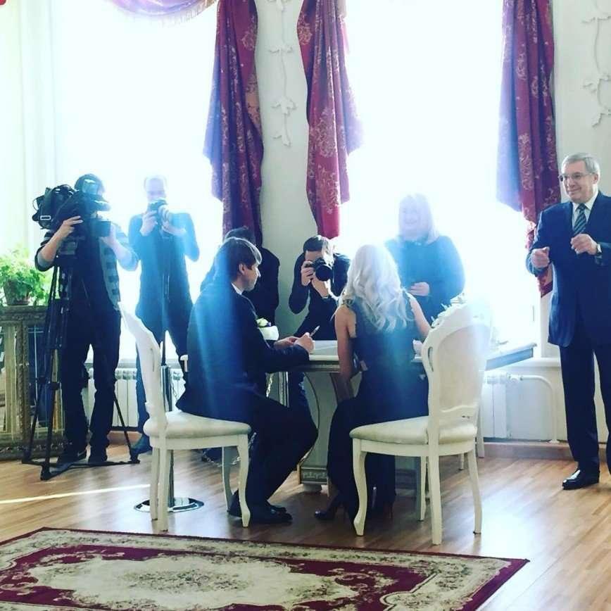 Алексей Ягудин и Татьяна Тотьмянина расписались в Красноярске