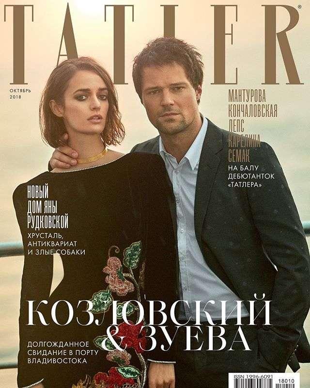 Данила Козловский и Ольга Зуева впервые вместе появились на обложке глянца