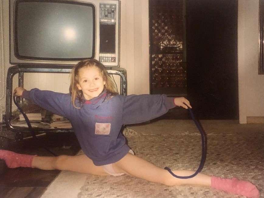 С олимпийским настроем: Мария Кожевникова показала себя в детстве