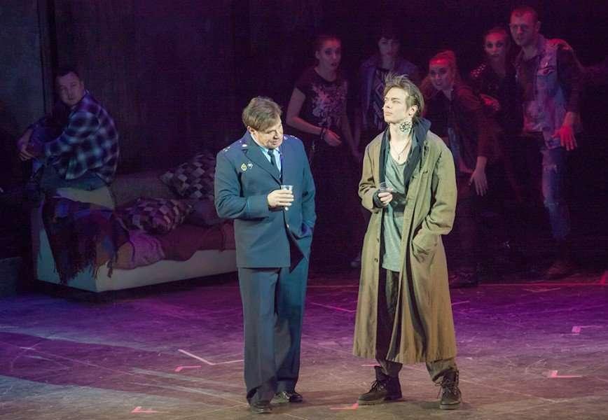 Рок-опера «Преступление и наказание»: последние спектакли сезона