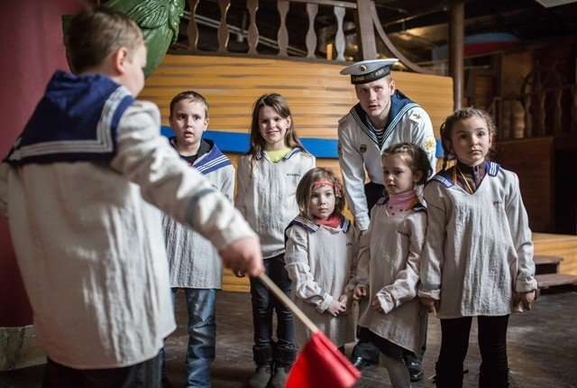 Детский город в центре Москвы